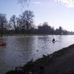 River just past Iffley Lock