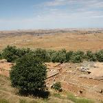 Le village au pied de la maison d'hote