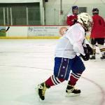 Old Buzzard Hockey Player