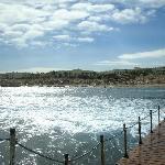 Vista del Resort dal pontile