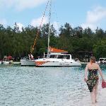 Hotels boat trip - well worth it.