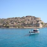 "The Island of Spinalonga. There's a novel about it... oddly enough called ""The Island"""