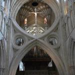 Wells catherdral. Famous scissor arch.