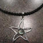 The pendant that I purchased from Karma at West Bay, Roatan