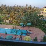 hotel pool...