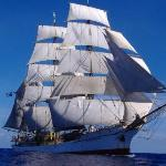 The Picton Castle-World Voyage IV (2005-6). Barque rig. Circumnavigated the world from Lunenburg