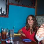 me at the Caribbean Saloon