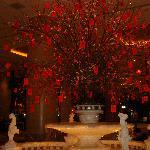 G.Hyatt Lobbyの旧正月の飾り