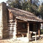 Barnes Log Cabin