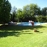 Pool at La Terrada Suites