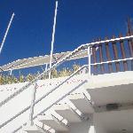 accès terrasse