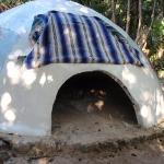 the temazcal hut where it was discovered Scott has the spirit of the Jaguar Warrior