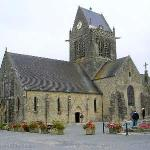 St. Mer Eglise, Normandy, France (First city liberated on D-Day)
