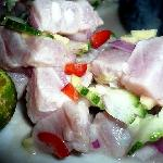 My love affair with kinilaw (fresh tuna soaked in vinegar) began on Samal