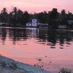 Sunset on Pampa river