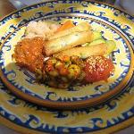 Comida Riad - Ensalada Marroqui