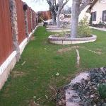 1.5 acre landscaped grounds