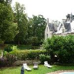Chateau avec piscine