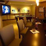 Enjoy the relaxing comfort of our 'Pub' while you watch TV or play a game.