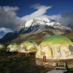 This is the eco camp where we stayed at Torre del Paine, an International World Biosphere.