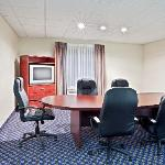 Need to meet with a client but don't want to have them in your room? Ask about our Board room, p