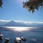 Lake Atitlan in Panahachel.