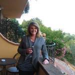 our balcony at Casa Lari
