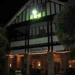 Inn at night