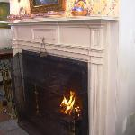 Friday Morning Fireplace