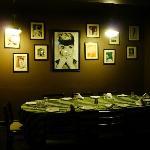 Audrey Hepburn wall!!