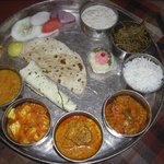 Shahi Thali - Only for the very hungry!
