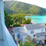 View of CBG from Lighthouse Villas