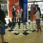 Giant chess & internet center