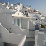 Nuestra habitacion y terraza.