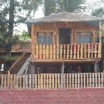 my beach front hut