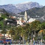 veduta di Ventimiglia alta