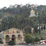 Mt. Of Olives with the Church of all Nations