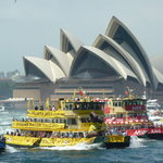 Australia Day on Sydney Harbour