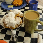 Beignets and Cafe au'lait