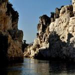 Marble Rocks - boating @ the canyon