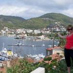 overlooking Poros