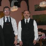 Excellents à tous égards: le chef et le maître d'hôtel