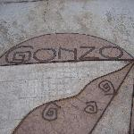 stone work at Gonzo Inn