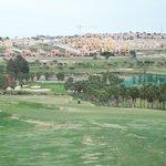 View of La Finca Golf Course and Villa area