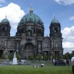 Berliner Dom... Was the former church of the kings of Germany. Now is a church, museum, and conc