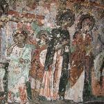 Ancient mural.