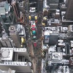 I won't spoil the rest of the flight, but here's a teaser. We looked straight down into Times Sq
