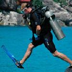 PADI scuba diving on Koh Tao