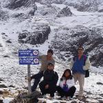 Glaciar Marcial. !!!!Que frio !!!