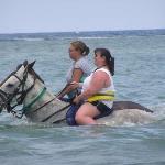 Horseback riding @ Chukka Cove in Jamaica